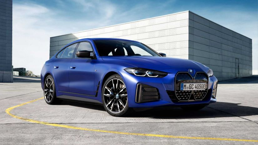 BMW confirma primeiro modelo elétrico da linha esportiva M