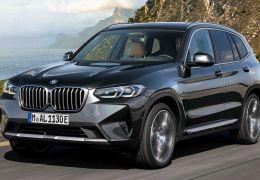 BMW anuncia reestilizações para o X3 e o X4 2022