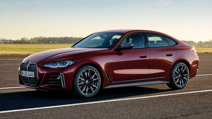BMW revela novo Série 4 Gran Coupé 2022 com mais espaço