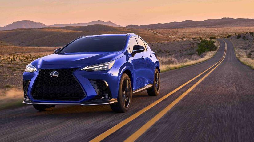 Lexus aposta em novo híbrido plug-in NX 2022