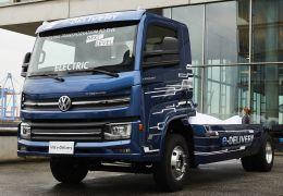 Volkswagen começa produção de caminhão elétrico VW e-Delivery no Brasil