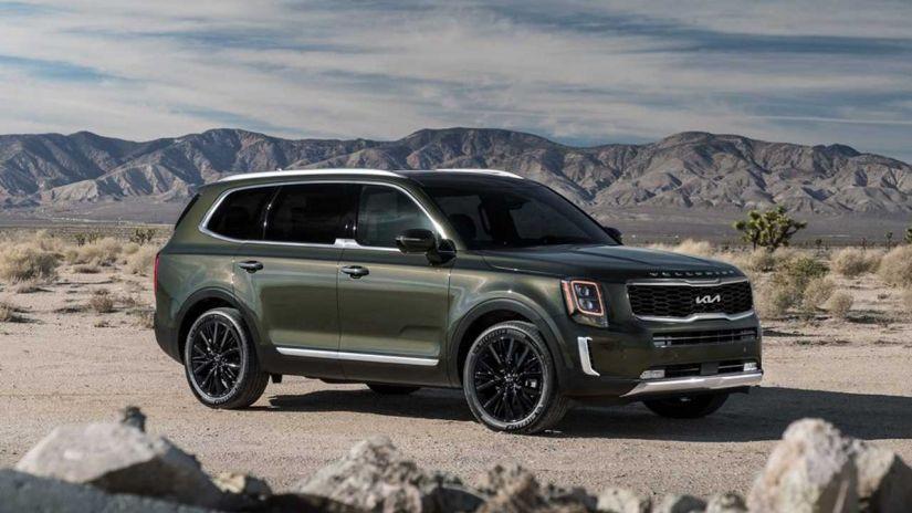 Kia atualiza o design do SUV Telluride