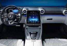 Mercedes-AMG SL terá grande tela regulável