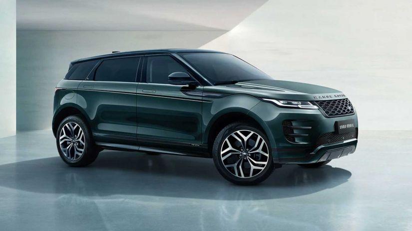 Range Rover Evoque vai ganhar versão alongada para mercado chinês