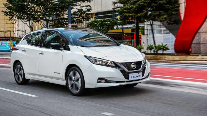 Nissan confirma que Leaf passa a ser vendido em todas as regiões do Brasil