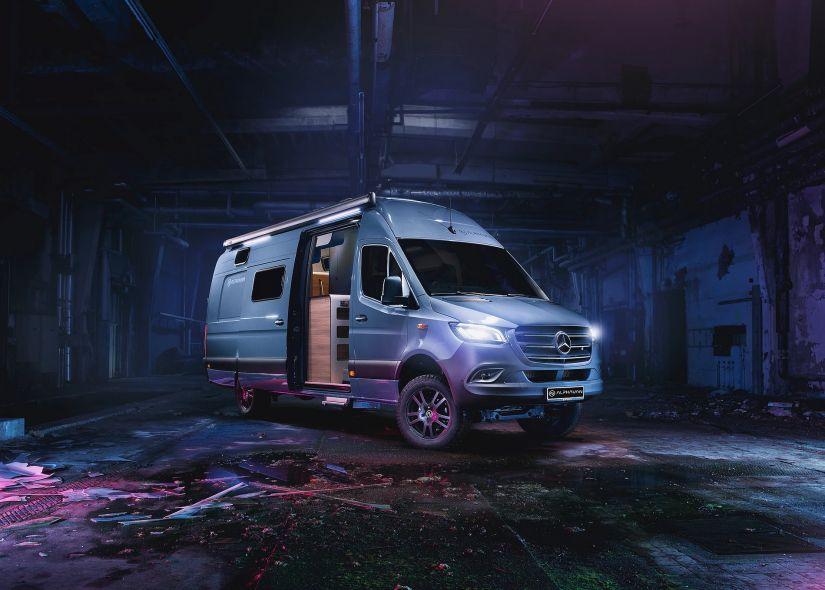 Mercedes apresenta conceito de casa sobre rodas de mais de R$ 1 milhão
