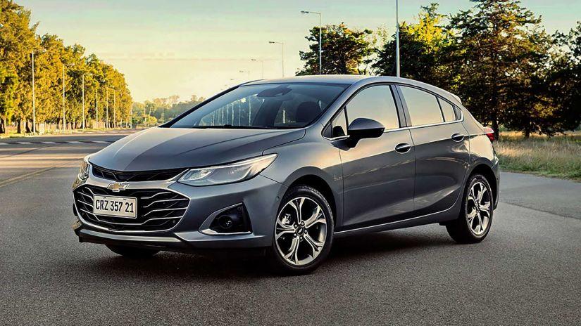 Novos Cruze e Cruze Sport6 2022 já estão disponíveis no site da Chevrolet