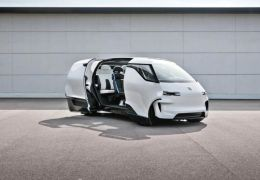 "Porsche revela interior de ""Kombi"" futurista"