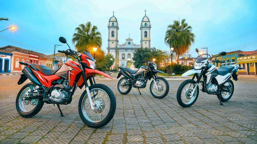 Honda lança Bros 160 2022 com novos elementos visuais