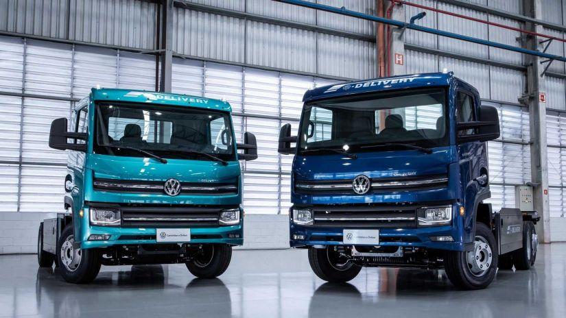 Volkswagen e-Delivery tem 1º lote esgotado em um mês