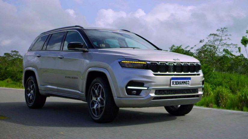 Jeep começa pré-venda do Commander no Brasil