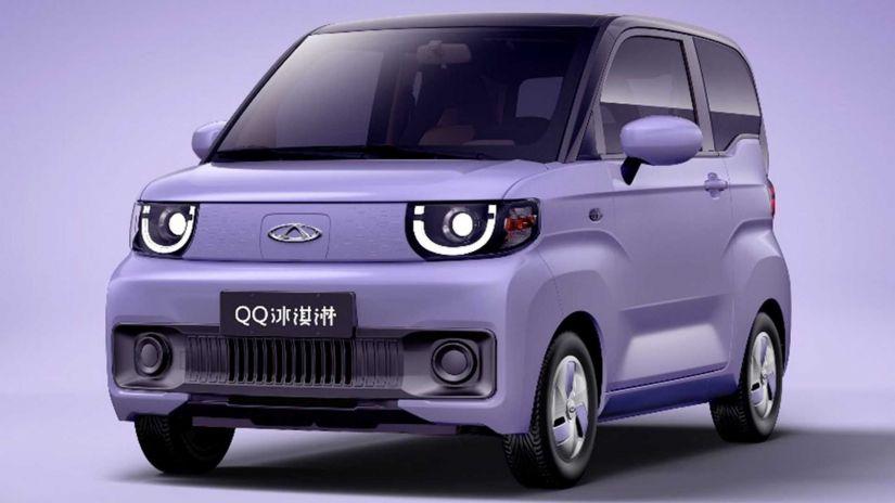 Novo Chery QQ elétrico é revelado em imagens oficiais