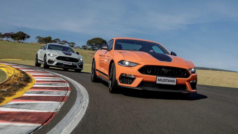 Ford Mustang terá Nova geração em 2022