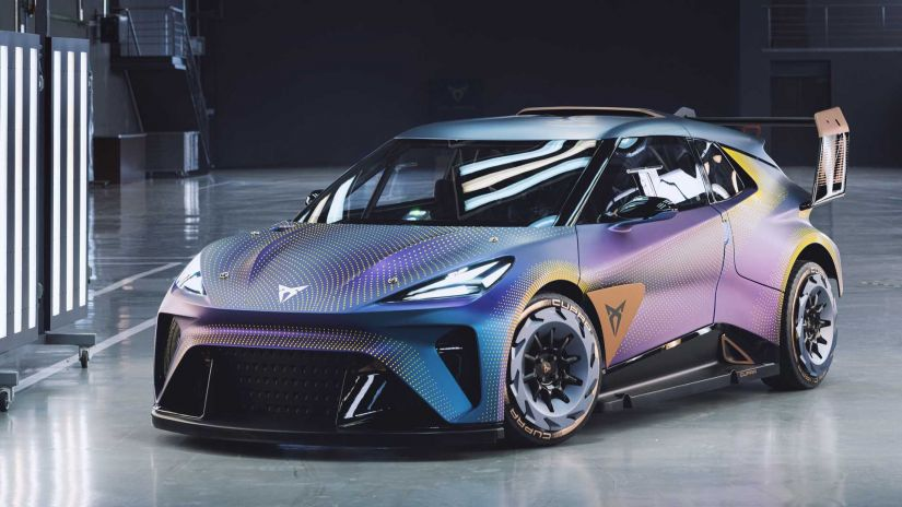 Cupra revela conceito de carro elétrico com 435 cv de potência
