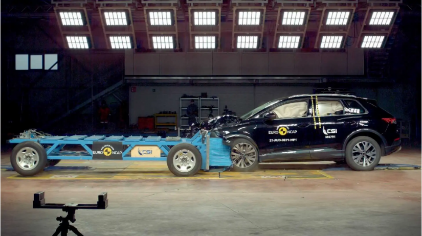 Q4 e-tron recebe 5 estrelas nos testes de segurança da Euro NCAP