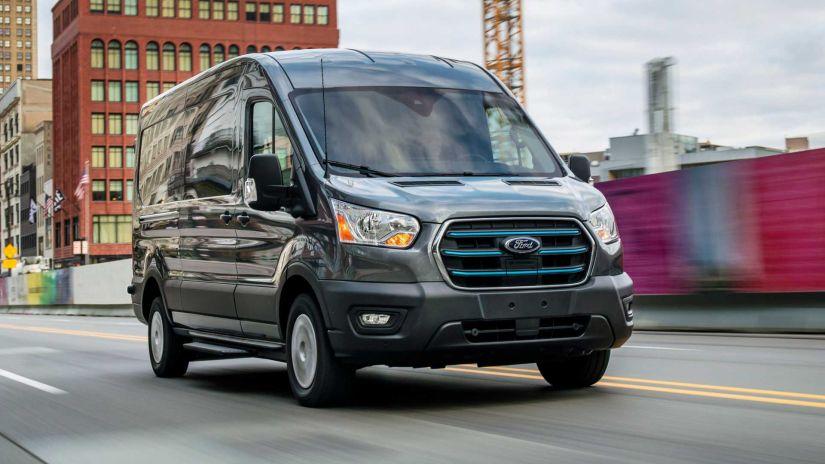 Nova Ford Transit eletrificado pode ser lançada no Brasil