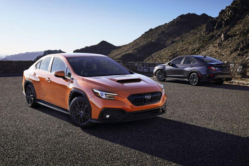 Subaru apresenta WRX 2022 com novo visual e versão GT