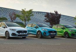 Ford Fiesta 2022 ganha mudanças leves para atualização
