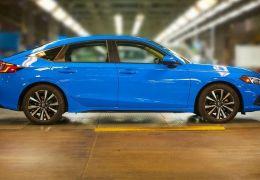 Honda começa produção do novo Civic hatch nos EUA