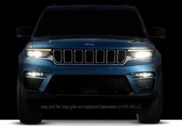 Novo Jeep Grand Cherokee 2022 de 5 lugares será apresentada essa semana