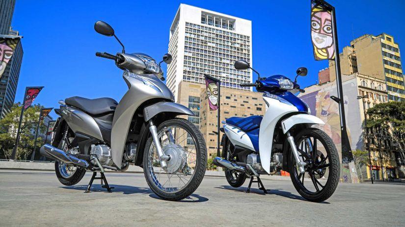 Honda lança nova Biz 2022 com novas opções e preços atualizados