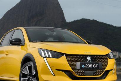 Peugeot 208 elétrico começa a ser vendido nacionalmente