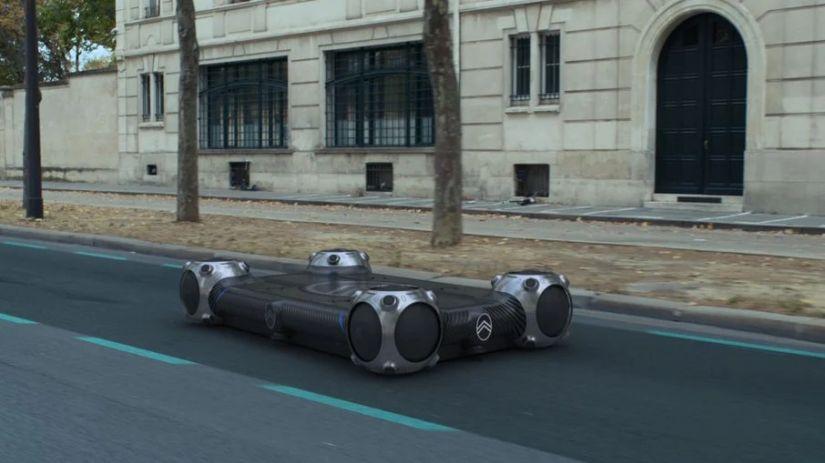 Citroën apresenta veículo autônomo com formato de skate