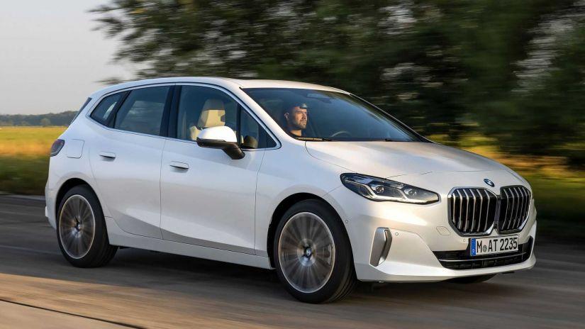BMW anuncia nova geração do Série 2 Active Tourer