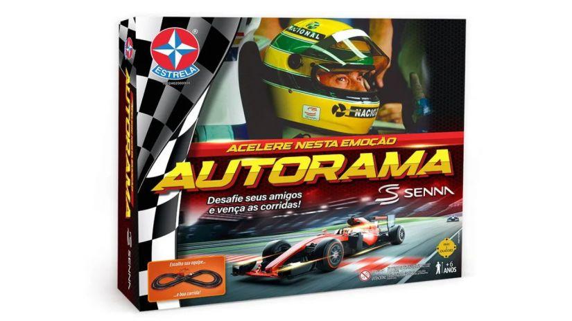 Estrela lança autorama especial em homenagem a Ayrton Senna