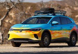 Volkswagen apresenta novo visual do ID.4 focado nas competições de rali