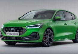 Ford Focus 2022 terá novas tecnologias e mudanças pontuais no design