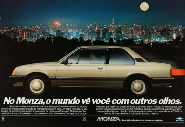 Propaganda Chevrolet Monza