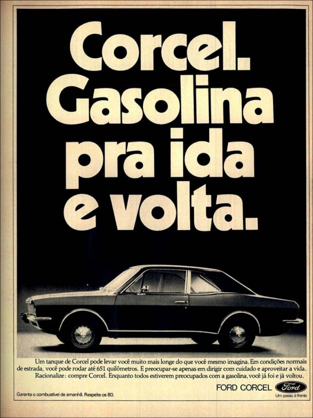 Ford Corcel - Propaganda
