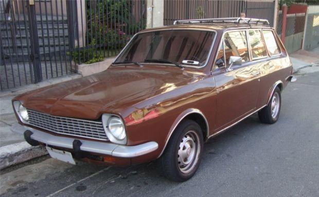 Ford Corcel Perua - Frente