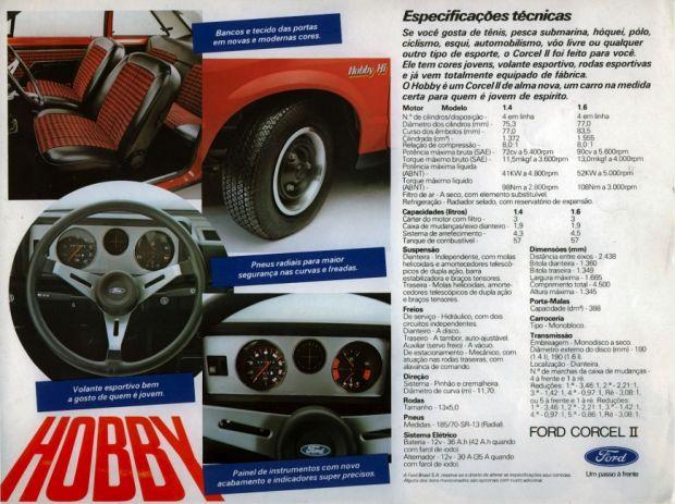 Ford Corcel II - Propaganda