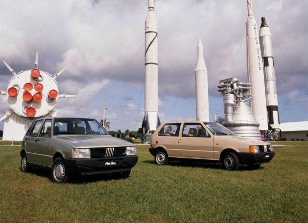 Fiat Uno - Anos 80