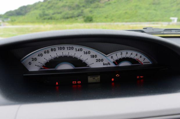 Toyota Etios - Painel