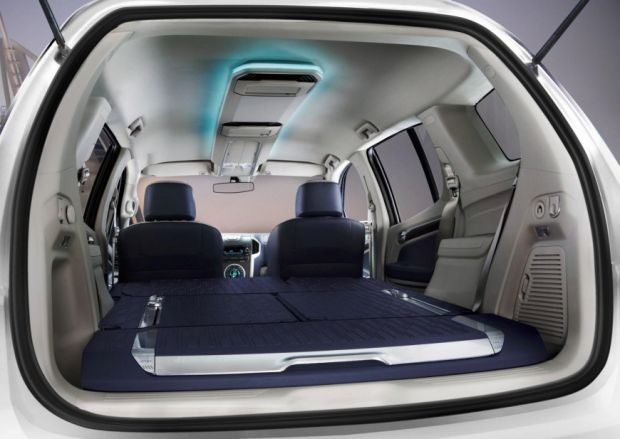 Chevrolet Nova Blazer - TrailBlazer - Interior