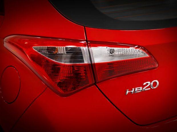 Hyundai HB20 - Traseira