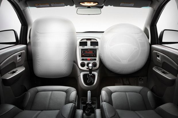 Airbags frontais