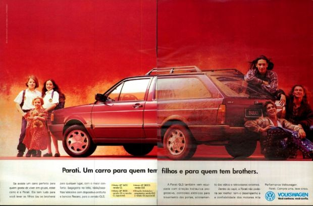 Parati GLS 1994 Propaganda