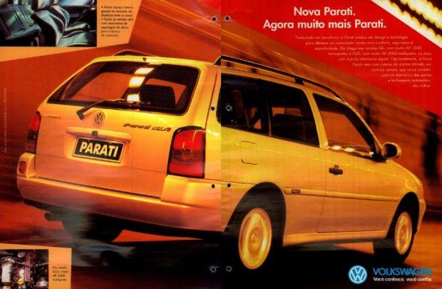Parati GLS 1996 Propaganda