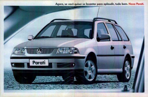 Parati GLS 1999 Propaganda