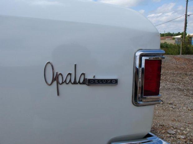 GM Opala - Traseira