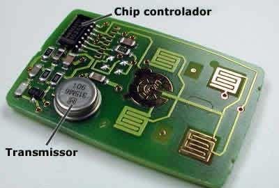 Trava elétrica - Modelo atual - Chip controlador