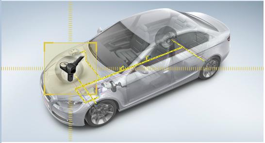 Sensor de velocidade da roda