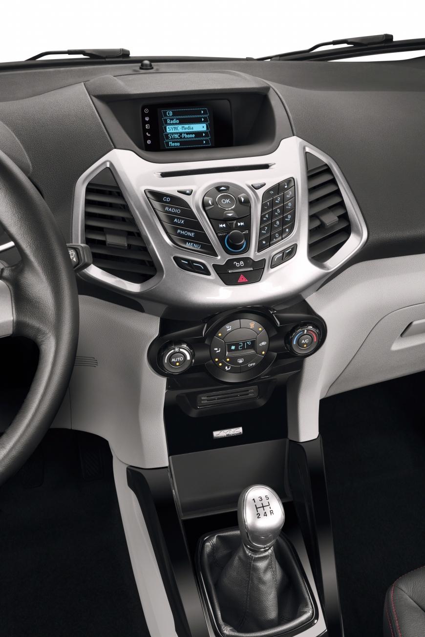 Interior nova Ecosport