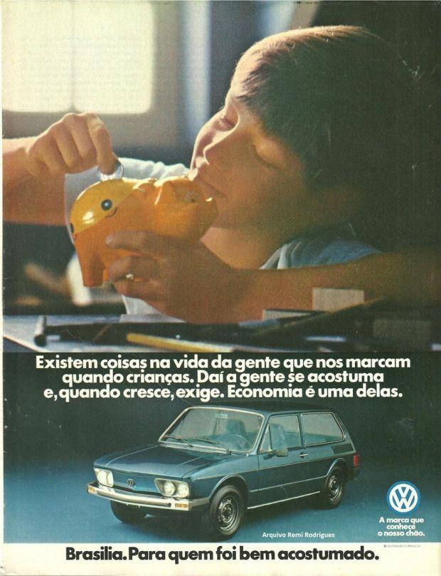 Propaganda Volkswagen Brasília