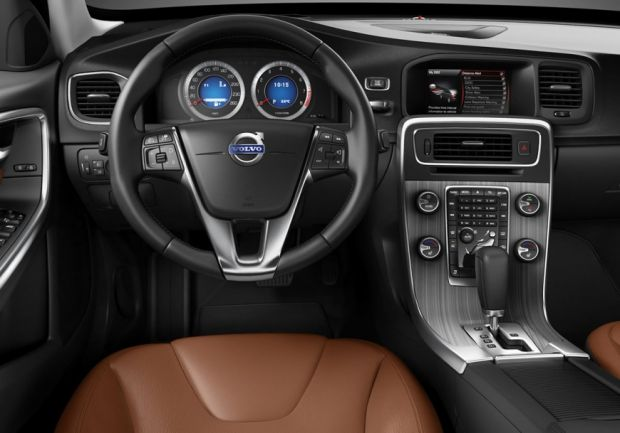 Interior do Volvo V60