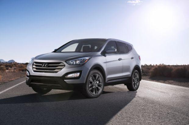 Hyundai Santa Fe - Frente